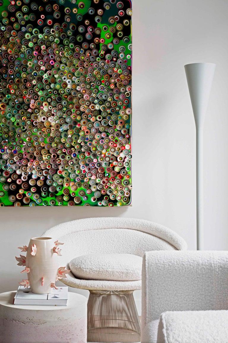 Warren Platner Mid-Century Modern for Knoll Wool American Dining Chair, Set of 2 6