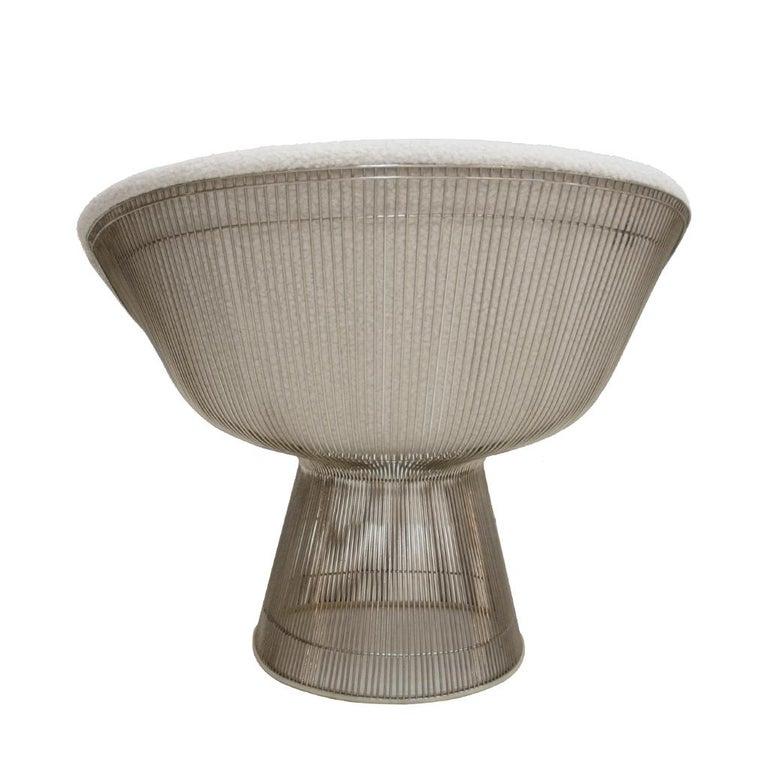 Warren Platner Mid-Century Modern for Knoll Wool American Dining Chair, Set of 2 1
