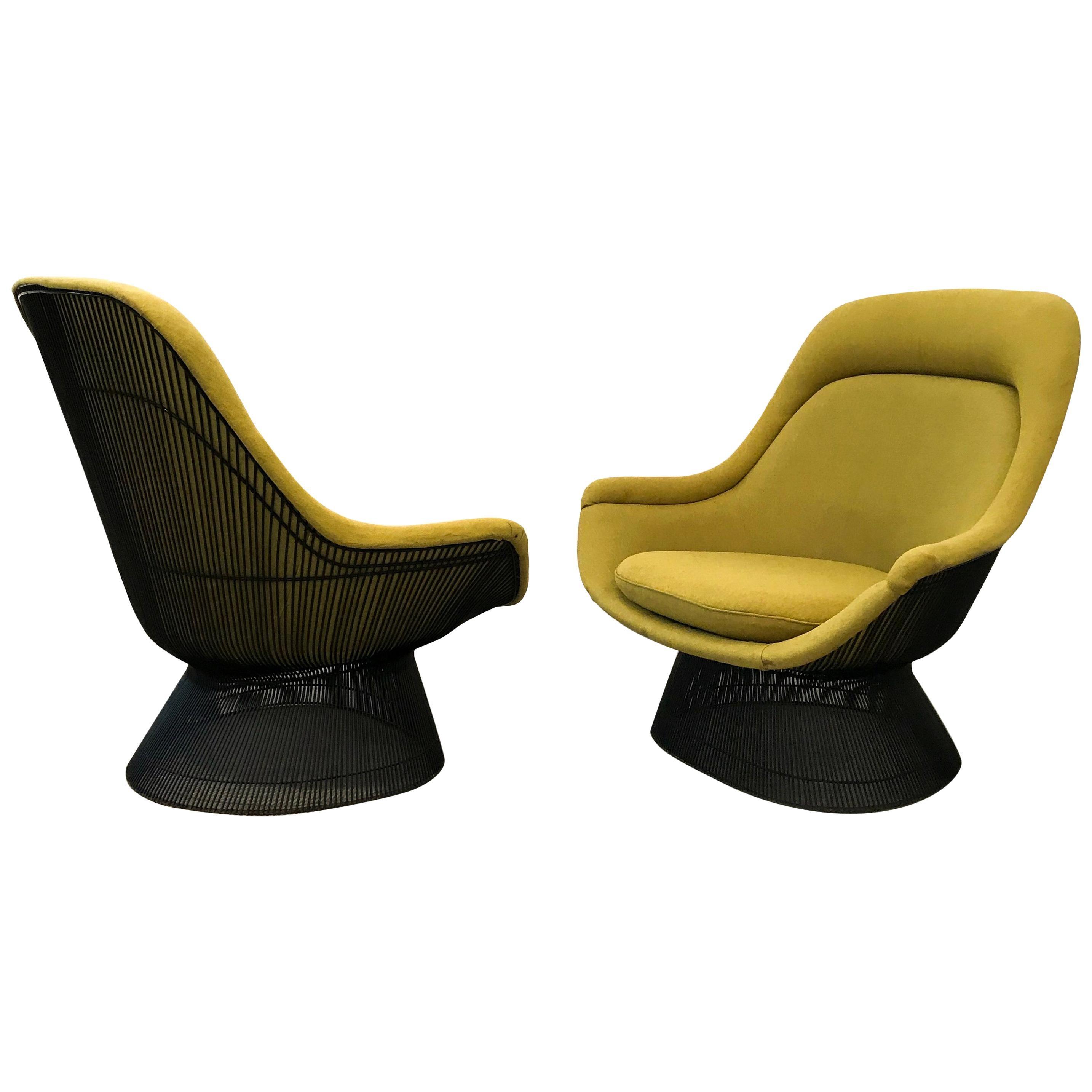 Warren Platner Pair Of  Easy Chairs