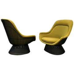 Warren Platner Pair Of  Easy Chairs