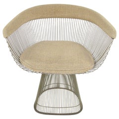 Warren Platner Steel Rod Armchair