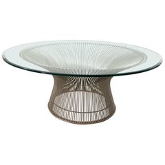 "Warren Platner ""Wire"" Coffee or Cocktail Table for Knoll, USA, 1966"
