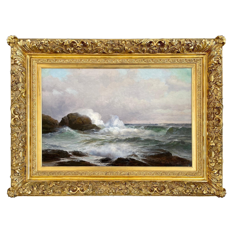 Warren W. Sheppard Newport Oil on Canvas