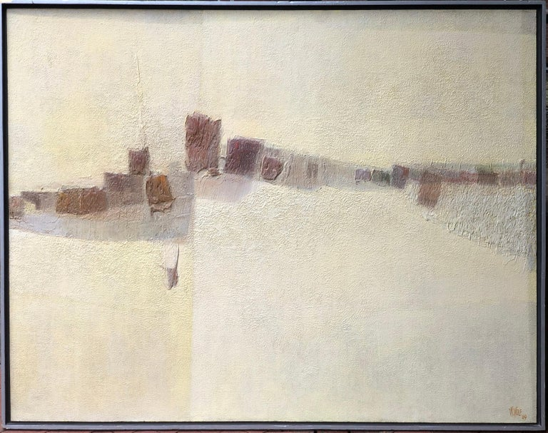 Warren Wolf Abstract Painting - To Begin Again