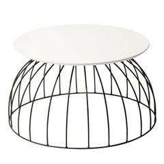 Washington Black and White Coffee Table