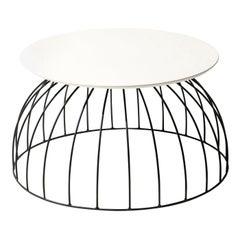 Washington Black and White Coffee Table