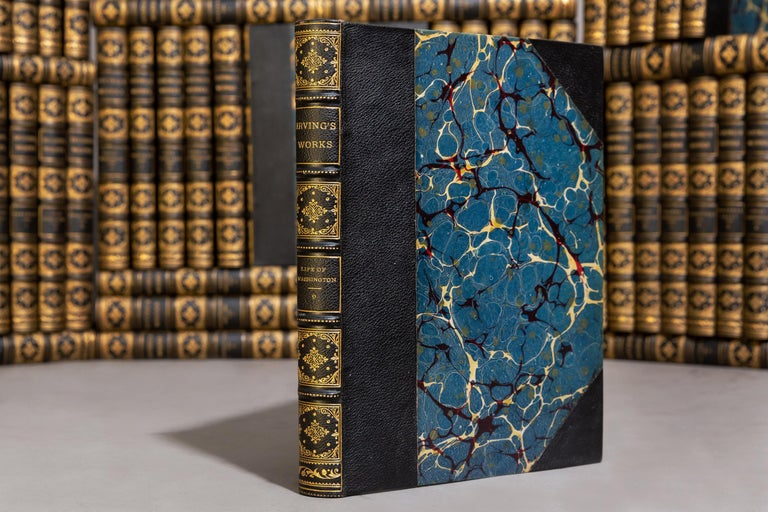54 Volumes. Washington Irving. The Complete Works.