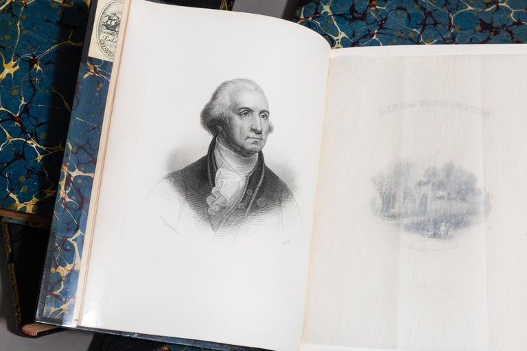 Washington Irving Complete Works In Good Condition For Sale In New York, NY