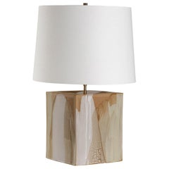 Washington Lamp, Ceramic Sculptural Table Lamp by Dumais Made