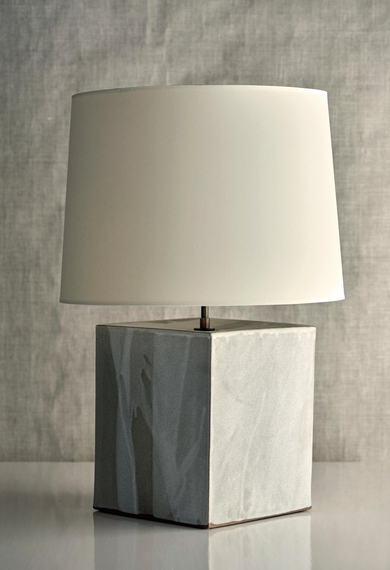 Washington Lamp XL, Ceramic Sculptural Table Lamp by Dumais Made For Sale 1