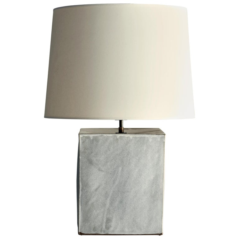 Washington Lamp XL, Ceramic Sculptural Table Lamp by Dumais Made For Sale