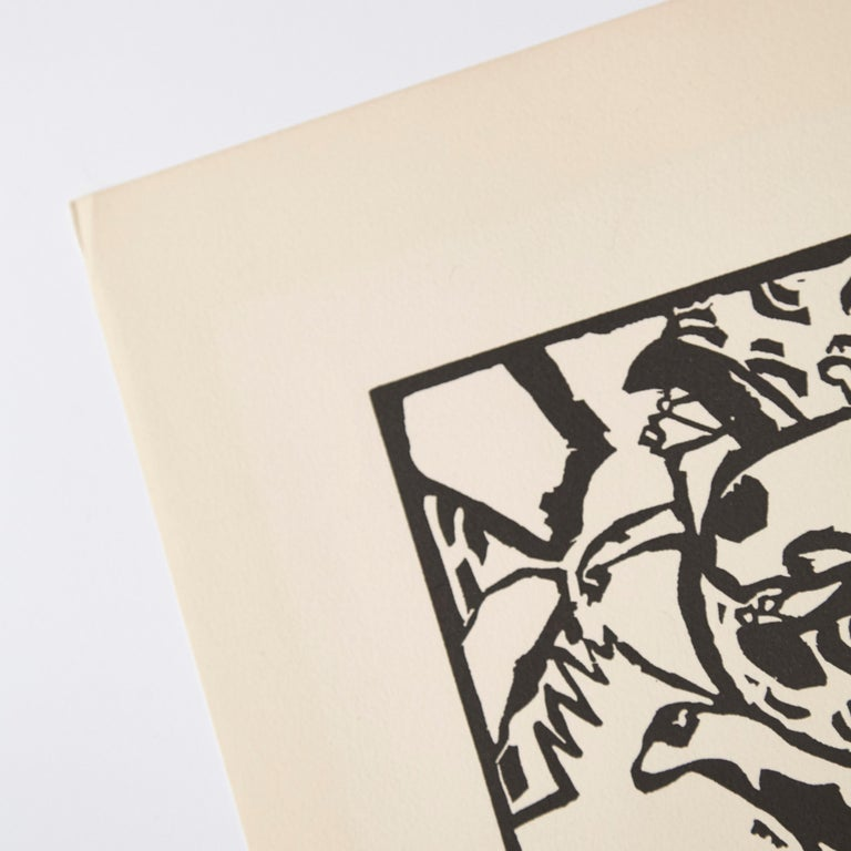 Mid-Century Modern Wasilly Kandinsky, Wood Engraving for