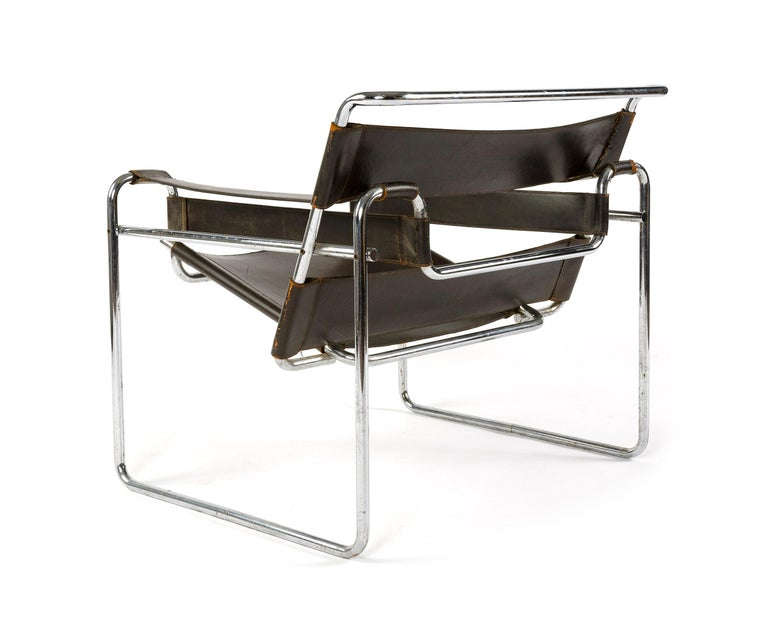 American 1950s Wassily Chair by Marcel Breuer For Sale