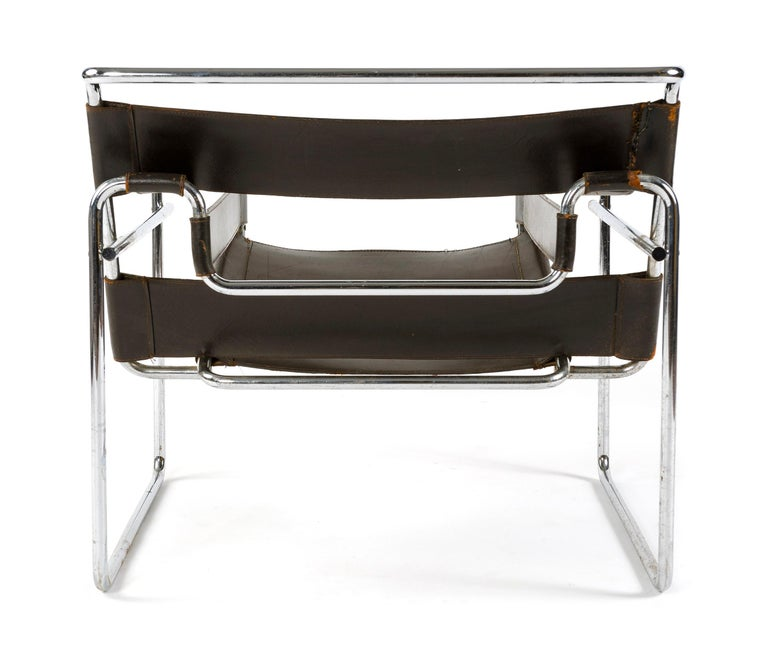 1950s Wassily Chair by Marcel Breuer In Good Condition For Sale In Sagaponack, NY