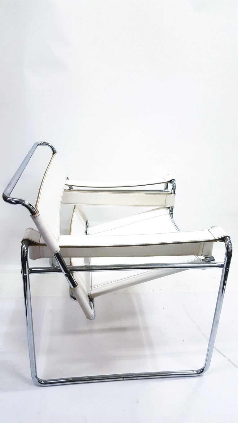 European Wassily Chair, Model B3, by Marcel Breuer, Vintage, 1970s For Sale