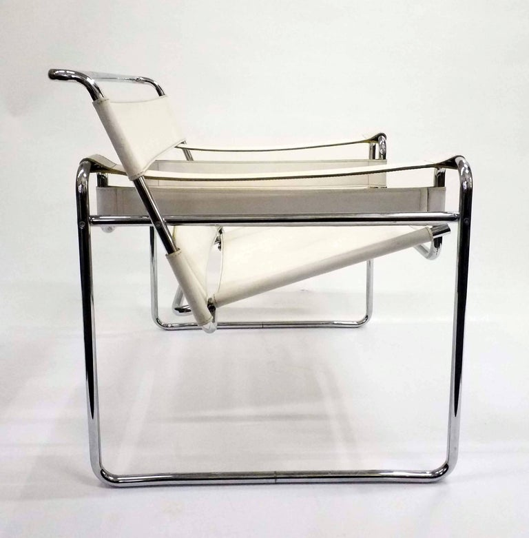Wassily Chair, Model B3, by Marcel Breuer, Vintage, 1970s In Good Condition For Sale In Budapest, HU