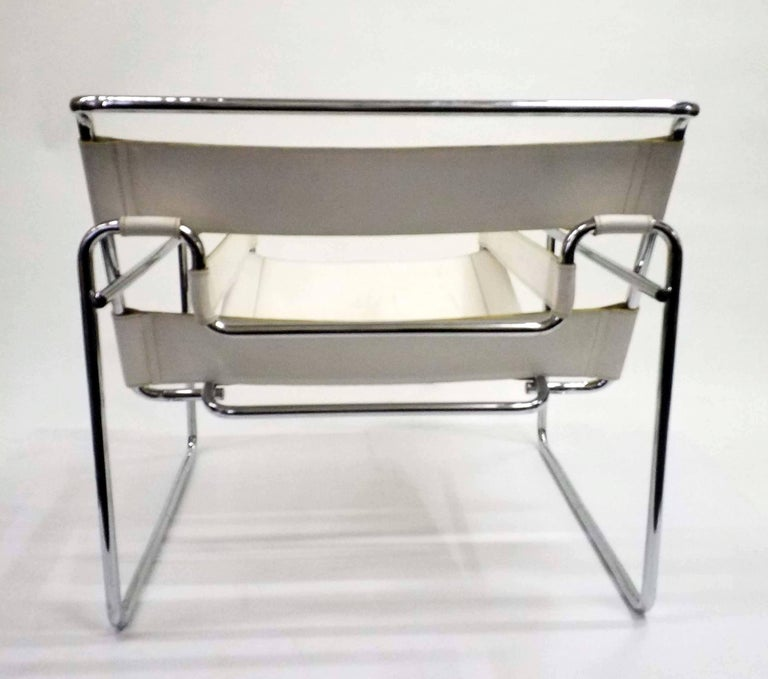 Early 20th Century Wassily Chair, Model B3, by Marcel Breuer, Vintage, 1970s For Sale