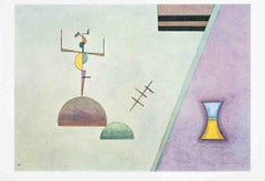 1965 Wassily Kandinsky 'Derriere Le Miroir No. 154 Double Page' Abstract Multico