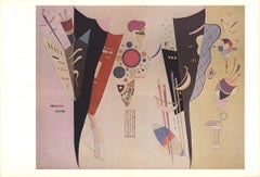 1969 Wassily Kandinsky 'Reciprocal Accords' Expressionism Multicolor Offset Lith