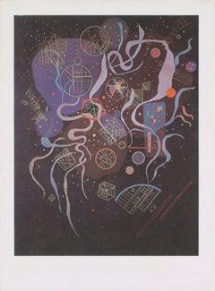 1969 Wassily Kandinsky 'Unanimite' Expressionism Offset Lithograph