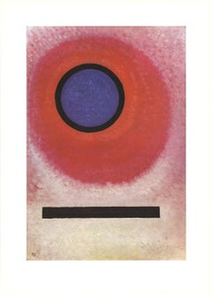 1990 Wassily Kandinsky 'At Once' Expressionism Multicolor France Lithograph