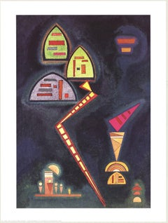 1994 Wassily Kandinsky 'Grun' Expressionism Multicolor,Gray Offset Lithograph