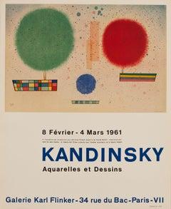 Aquarelles et Dessin, Galerie Karl Flinke by Wassily Kandinsky