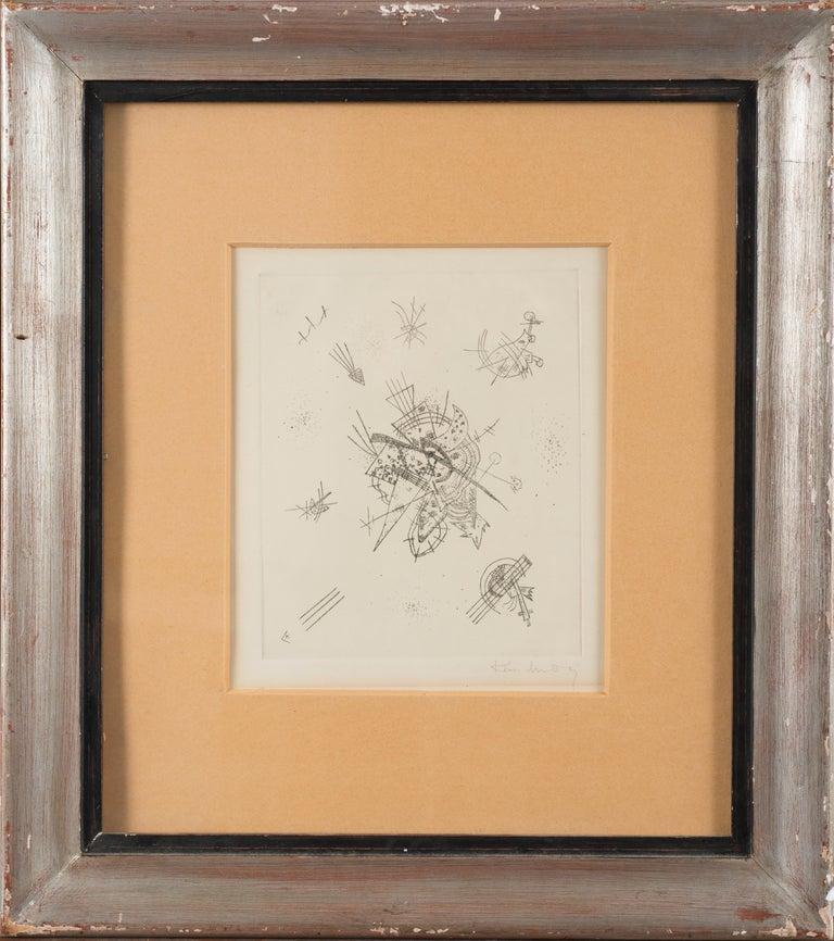 Kleine Welten - Original Drypoint by Wassily Kandinsky - 1922 For Sale 1