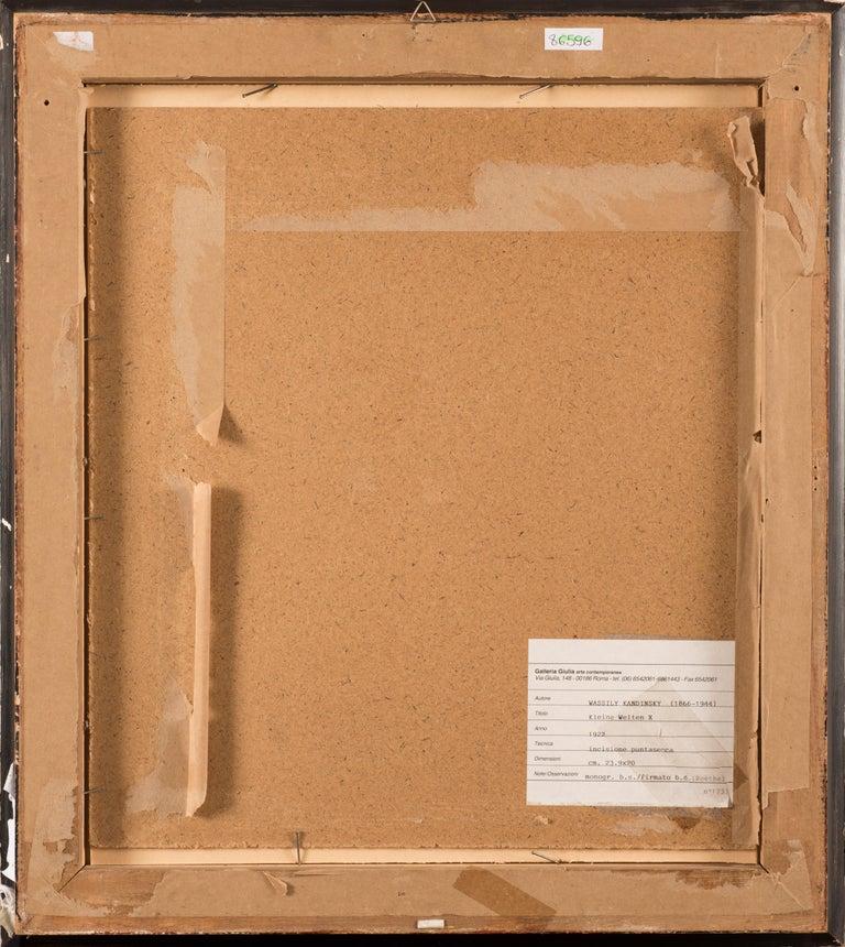 Kleine Welten - Original Drypoint by Wassily Kandinsky - 1922 For Sale 2