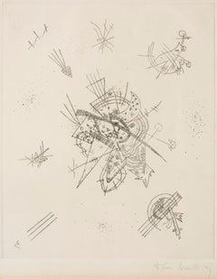 Kleine Welten - Original Drypoint by Wassily Kandinsky - 1922