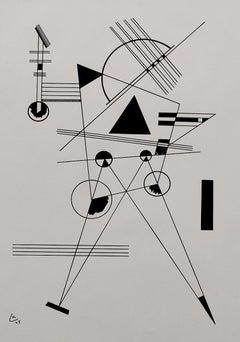 Lithograph No. 1  Lithographie No.1 - German Bauhaus