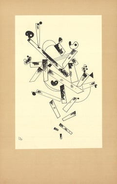 "Wassily Kandinsky-Centenaire (No Text)-23.5"" x 15""-Poster-1982-Expressionism"
