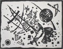 Woodcut for the Ganymede Portfolio  Holzschnitt für die Ganymed-Mappe