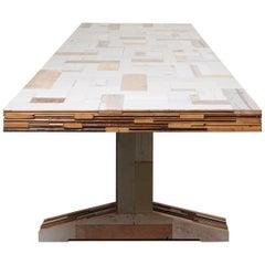 Waste Table Scrapwood by Piet Hein Eek