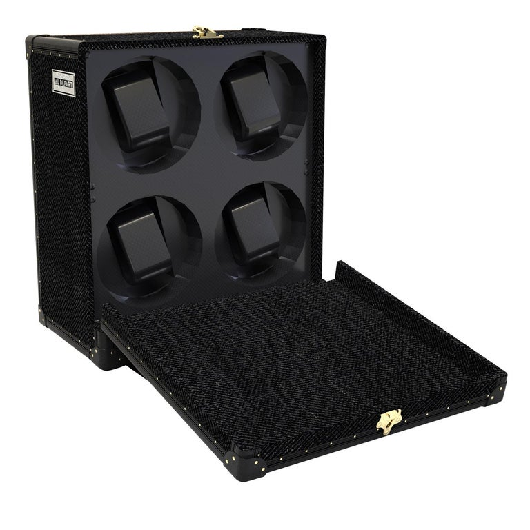 Modern Watch Winder for 4 For Sale