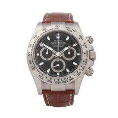 Watches Product Details 33264 Rolex Daytona 18k White Gold