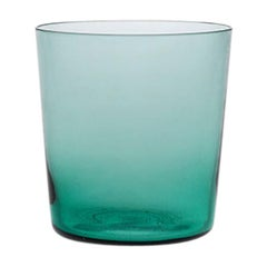 Water Glass Handcrafted in Muranese Glass, Small, Baltic Pure MUN by VG