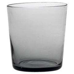 Water Glass Handcrafted in Muranese Glass, Small, Lead Pure MUN by VG