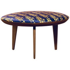 Water Lilly Footstool Table