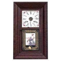Waterbury Wall Clock, USA, Mid 19th Century