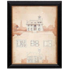 Watercolor Architectural Rendering