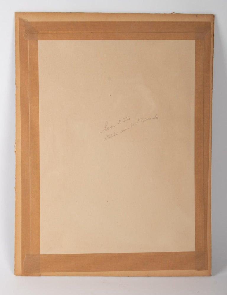 Watercolor, Belle Époque, 1900-1920, Signed Renée Michèle, Paris For Sale 1