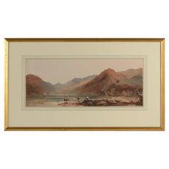Watercolor by John Varley, 1812