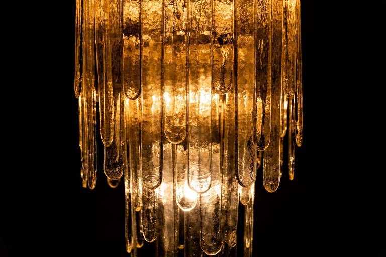 Waterfall Chandelier by Carlo Nason, 1946 For Sale 3