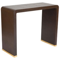 """Waterfall"" Console Table by Karl Springer"