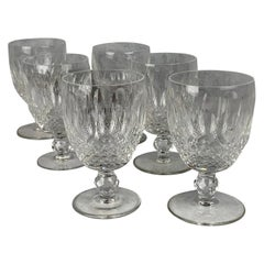Set of 6 Waterford Crystal Colleen Goblets
