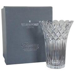 Waterford Crystal Romance of Ireland Collection Irish Lace Vase w Box 100549