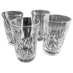 "Waterford ""Lismore"" Pattern Set of Four Highball/Tumbler Glasses"