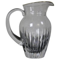 Waterford Marquis Hanover Gold Crystal Water Juice Pitcher 32 oz