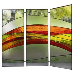 Waterglas, Artistic Glass Screen Adaptable for Luxury Windows
